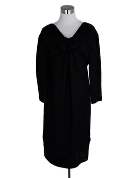 Chanel Black Cotton Silk Dress 1