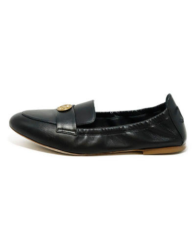 Chanel Black Leather Flats Sz. 36