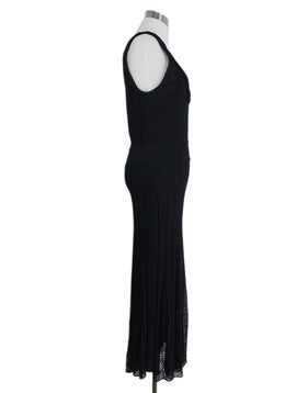 Chanel black long dress 2