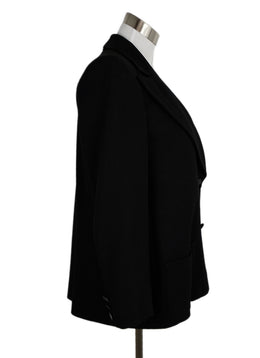 Chanel Black Polyester Viscose Jacket 2