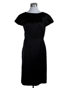 Chanel Black Silk Dress 1