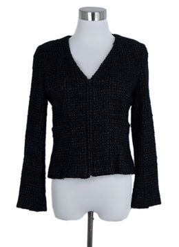 Chanel Black Tweed Lurex Jacket 1