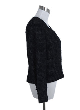 Chanel Black Tweed Lurex Jacket 2