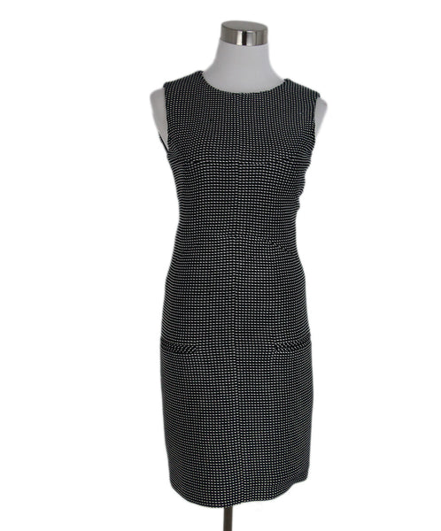Chanel Black White Cotton Dress 1