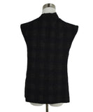 Chanel Black Wool Pleated Trim Top 3