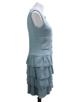Chanel Blue Dress sz 8
