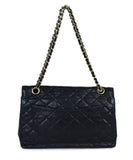 Chanel Blue Navy Leather Handbag | Chanel