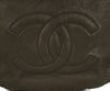 Chanel Pewter Hardware Brown Taupe Leather Shoulder Bag Handbag 9