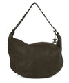 Chanel Pewter Hardware Brown Taupe Leather Shoulder Bag Handbag 3