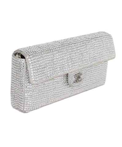 Chanel clear crystal shoulder bag 1