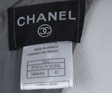 Chanel Grey Black Wool Polyamide Sequins Top 4