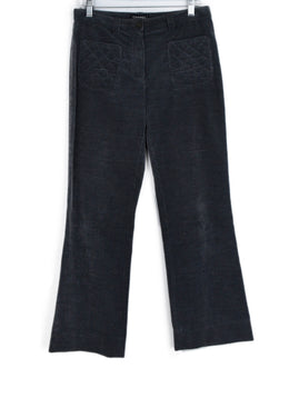 Chanel Grey Corduroy Pants 1