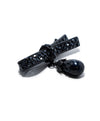Chanel Pewter Black Pin with Pearl and Crystal Accents | Chanel