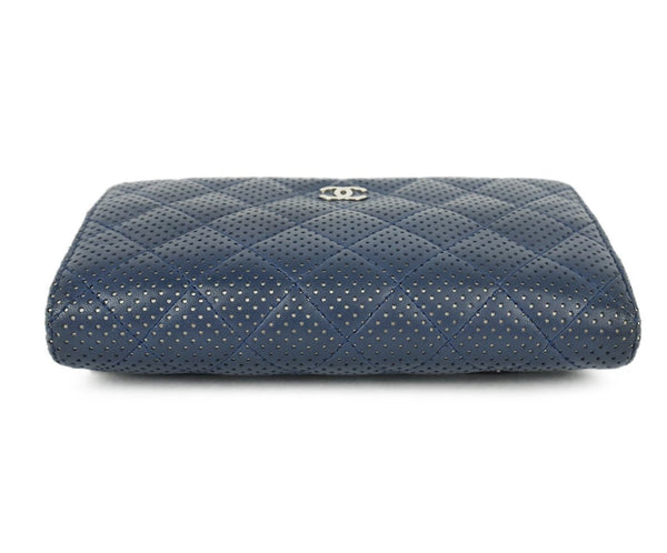 Chanel Navy Perforated Leather Crossbody 5