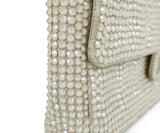 Chanel Neutral Beige Rhinestone Handbag 9