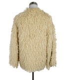 Chanel Neutral Cream Cotton Fringe Jacket 3