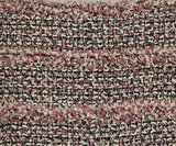 Chanel Pink, Black, and White Tweed Dress 6
