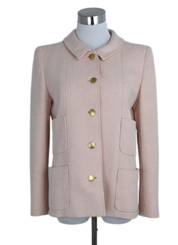 Chanel Pink Cotton Jacket 1