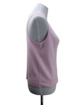 Chanel Pink Cotton Polyester Top 1