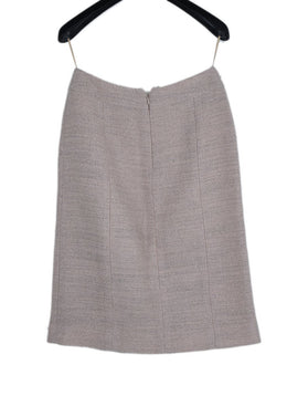 Chanel Pink Wool Polyester Skirt 2