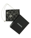Chanel Metallic Silver Metal Rhinestone Pearl Jewelry Necklace 4