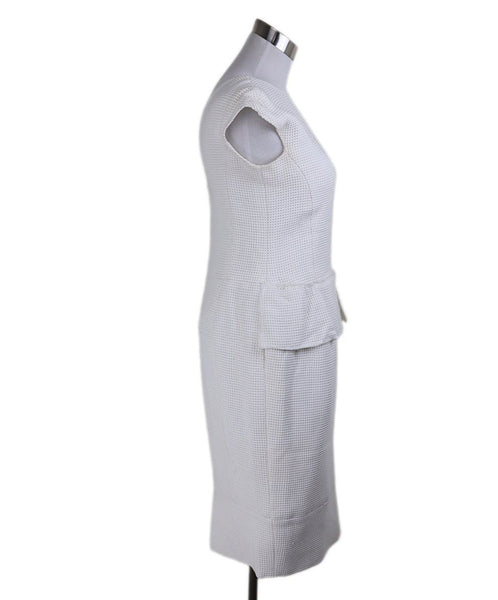 "Chanel White Cotton ""as is"" Dress 2"