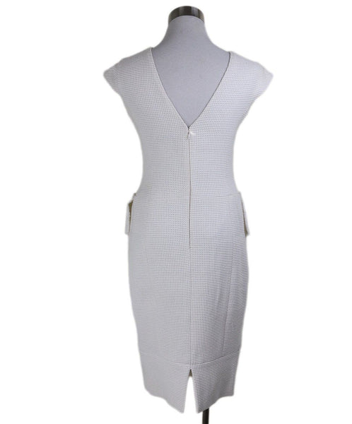 "Chanel White Cotton ""as is"" Dress 3"
