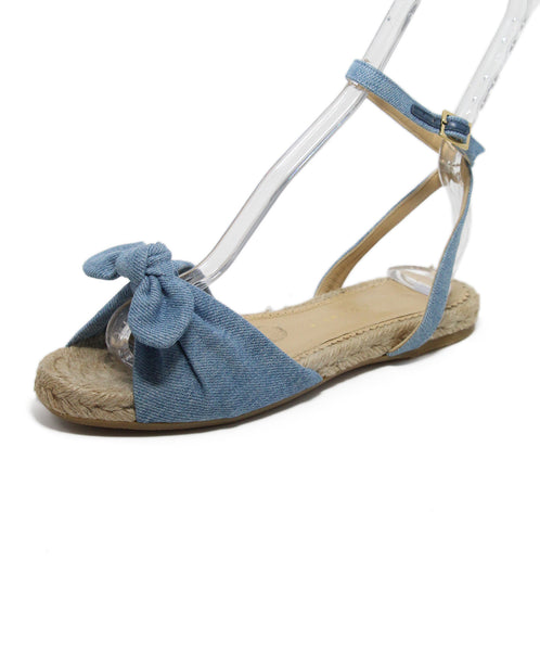 Charlotte Olympia Blue Denim Espadrille Sandals 1