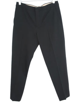 Chloe Black Acetate Viscose Pants 1