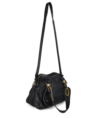 Chloe Black Leather Handbag 1