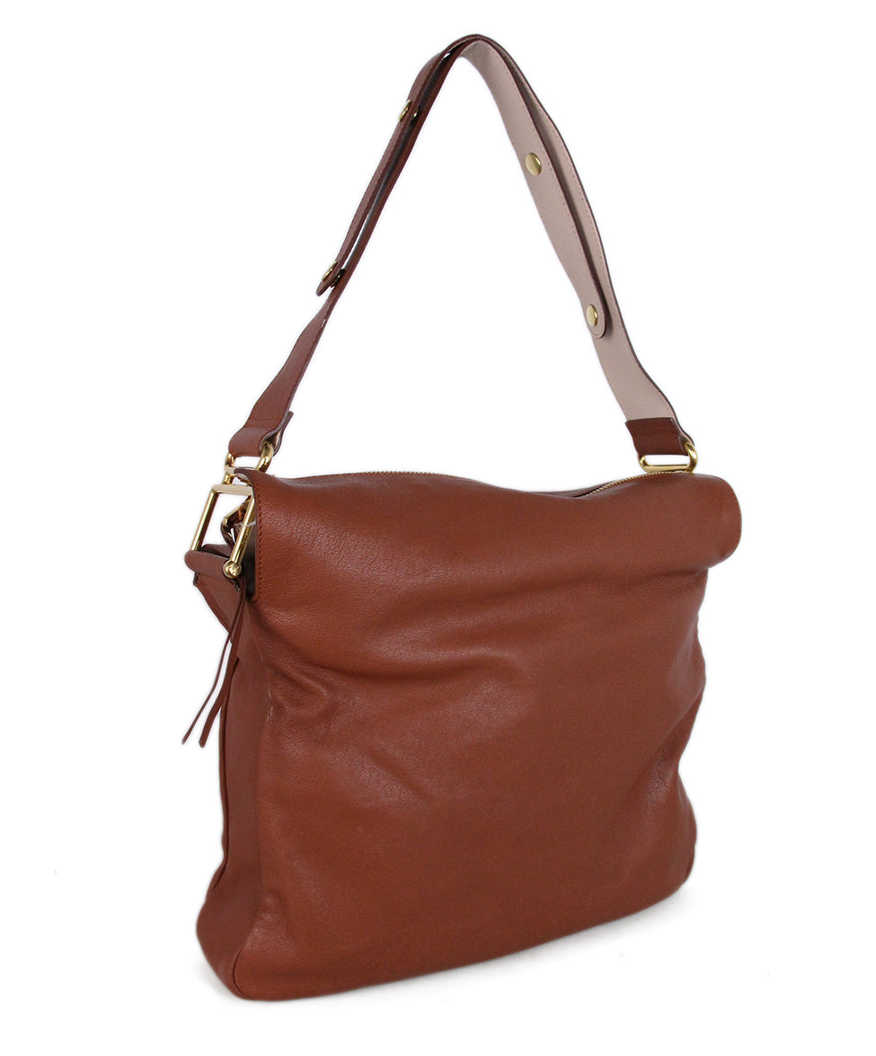 Chloe Brown Leather Shoulder Bag 2