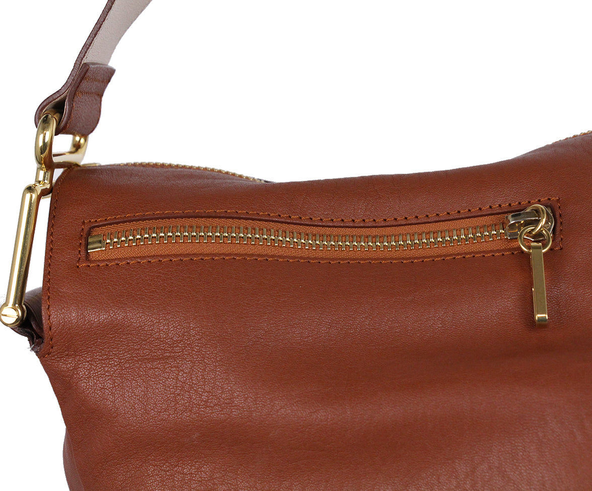 Chloe Brown Leather Shoulder Bag 7