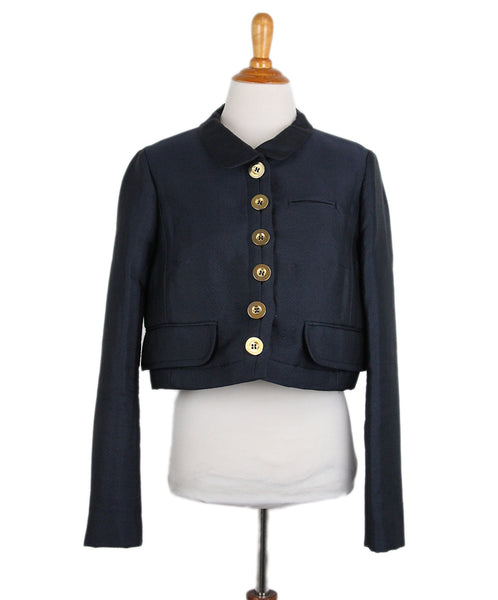 Chloe Navy Jacket 1