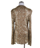 Chloe Beige Brown Animal Print Longsleeve 2