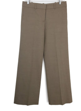 Chloe Neutral Cotton Tailored Pants 1