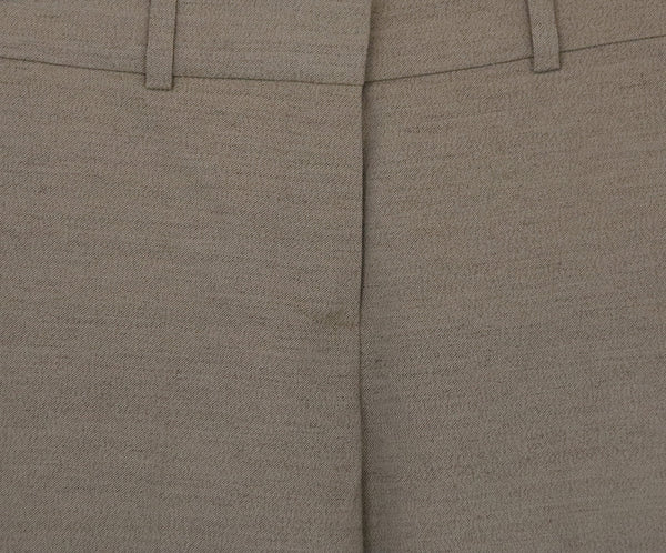 Chloe Neutral Cotton Tailored Pants 4
