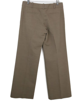 Chloe Neutral Cotton Tailored Pants 2