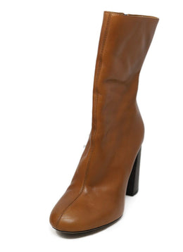 Chloe Tan Leather Boots