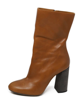 Chloe Tan Leather Boots 1