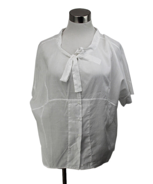Blouse Chloe White Cotton Top 1