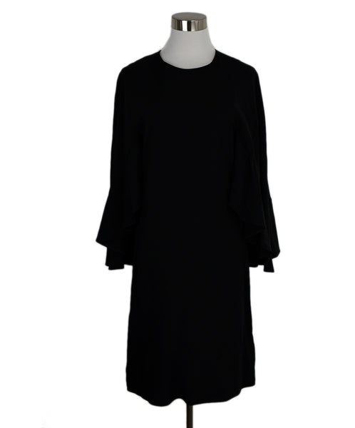 Chloe Black Acetate Viscose Dress 1