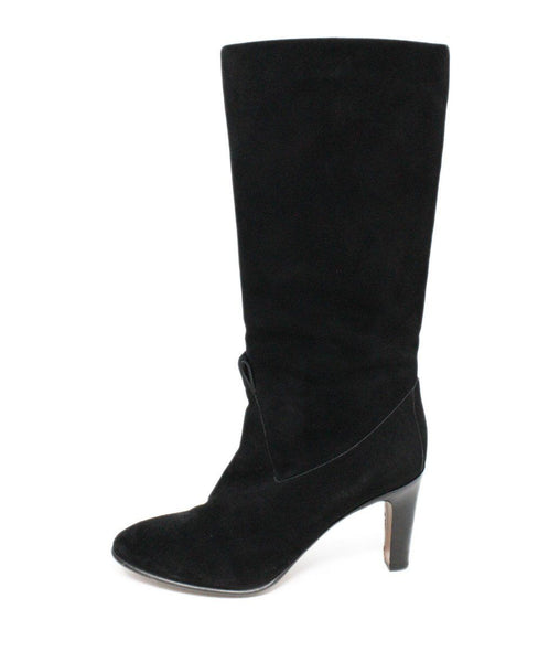Chloe Black Suede Boots 2