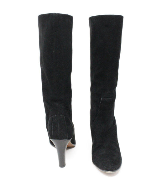 Chloe Black Suede Boots 3