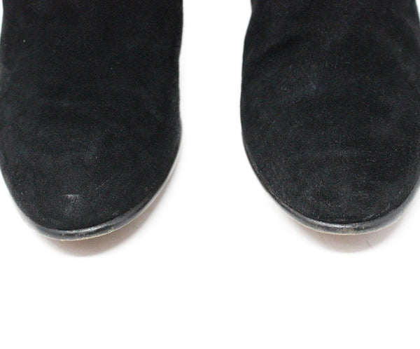 Chloe Black Suede Boots 5