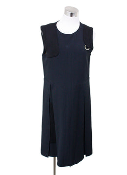Chloe Black Wool Dress