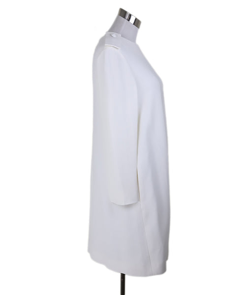Chloe Neutral Ivory Acetate Silk Dress 2