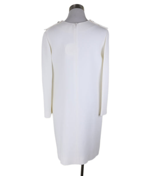 Chloe Neutral Ivory Acetate Silk Dress 3