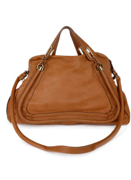 Chloe Neutral Tan Leather Handbag 1