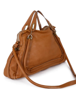 Chloe Neutral Tan Leather Handbag 2
