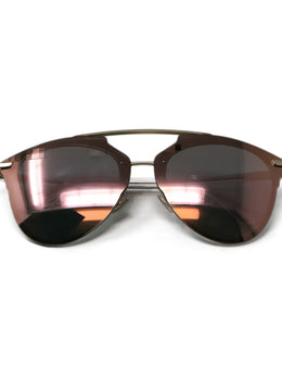 Christian Dior Metallic Rose Gold Lens Sunglasses 1